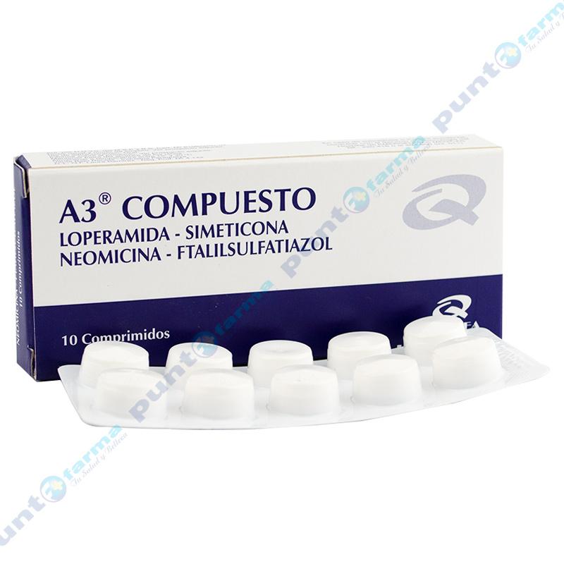 Imagen de producto: A3® Compuesto - Caja de 10 comprimidos