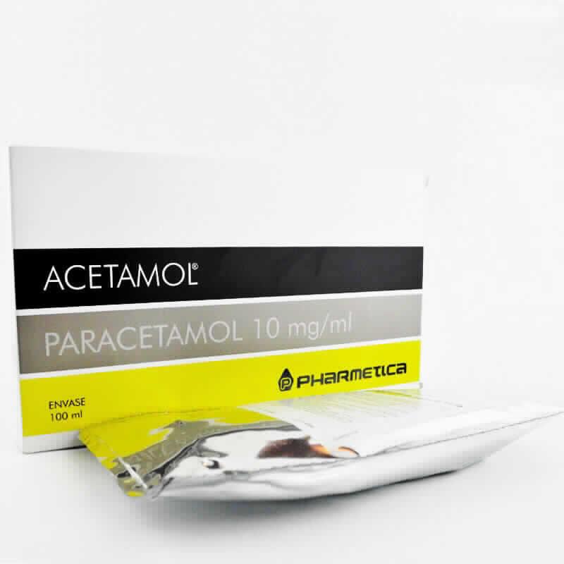 Imagen de producto: ACETAMOL® Paracetamol 10mg/ml - Contenido de 100 ml envase