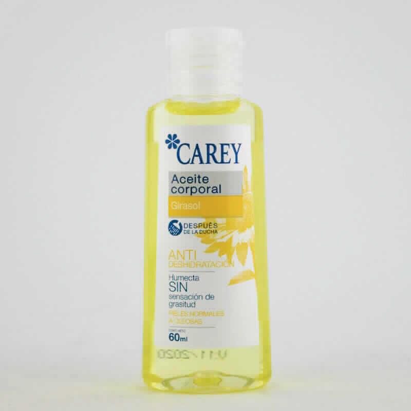 Imagen de producto: Aceite corporal de girasol CAREY Anti Dehidratación - 60 ml