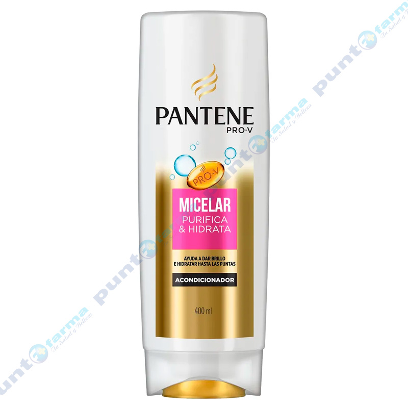 Imagen de producto: Acondicionador Pantene PRO-V® Micelar Purifica e Hidrata - 400ml
