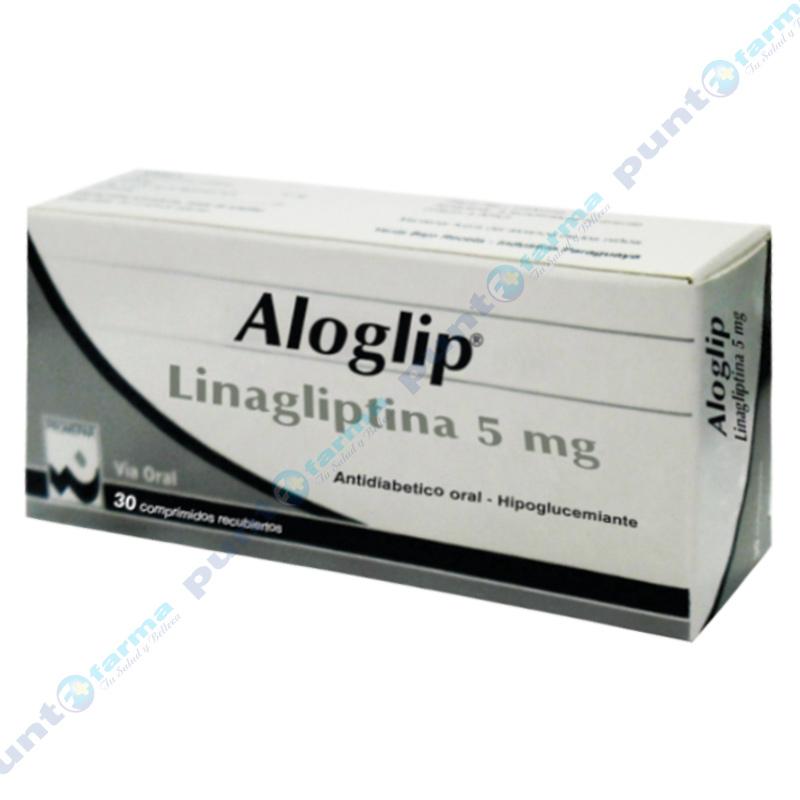 Imagen de producto: Aloglip® - Caja de 30 comprimidos recubiertos