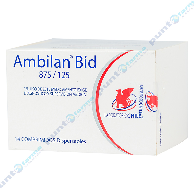 Imagen de producto: Ambilan® Bid 875/125 - Caja de 14 comprimidos