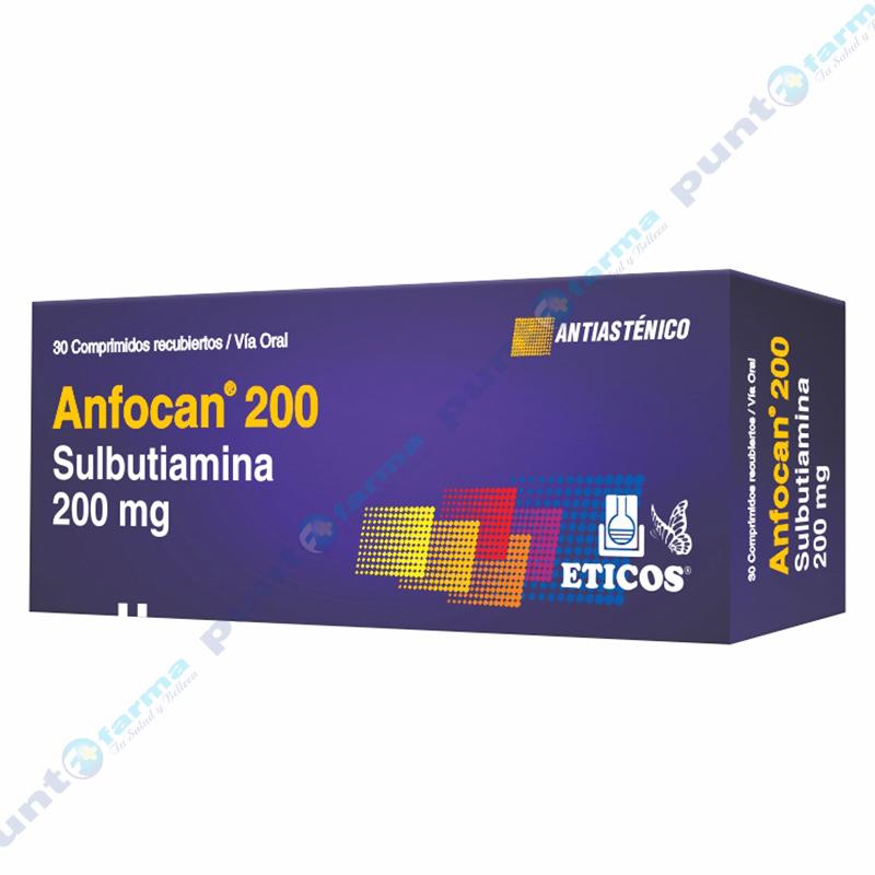 Imagen de producto: Anfocan® 200 - Caja de 30 comprimidos recubiertos