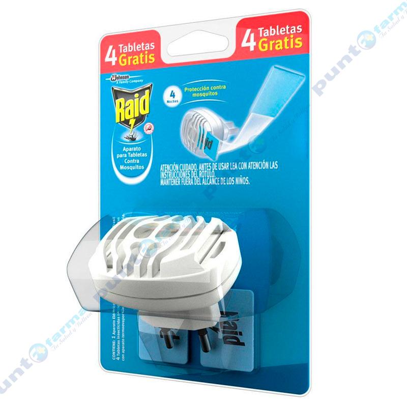 Imagen de producto: Aparato para tabletas Raid® - Cont. 1 aparato + 4 tabletas gratis