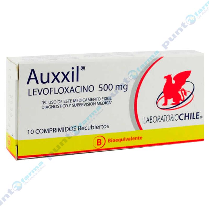 Imagen de producto: Auxxil® - Caja de 10 comprimidos