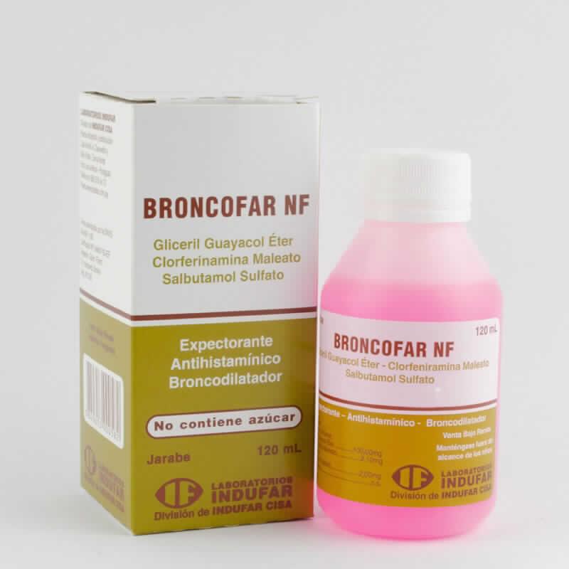 Imagen de producto: BRONCOFAR NF - Jarabe de 120 ml.