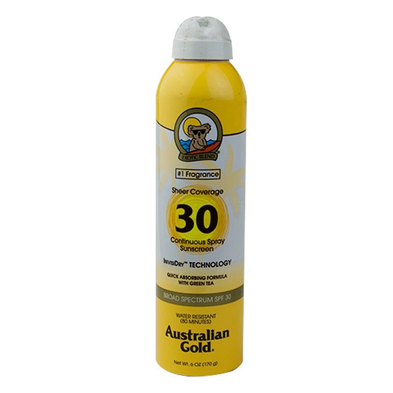 Imagen de producto: Bloqueador hipoalergénico en spray Exotic Blend®- 30 SPF