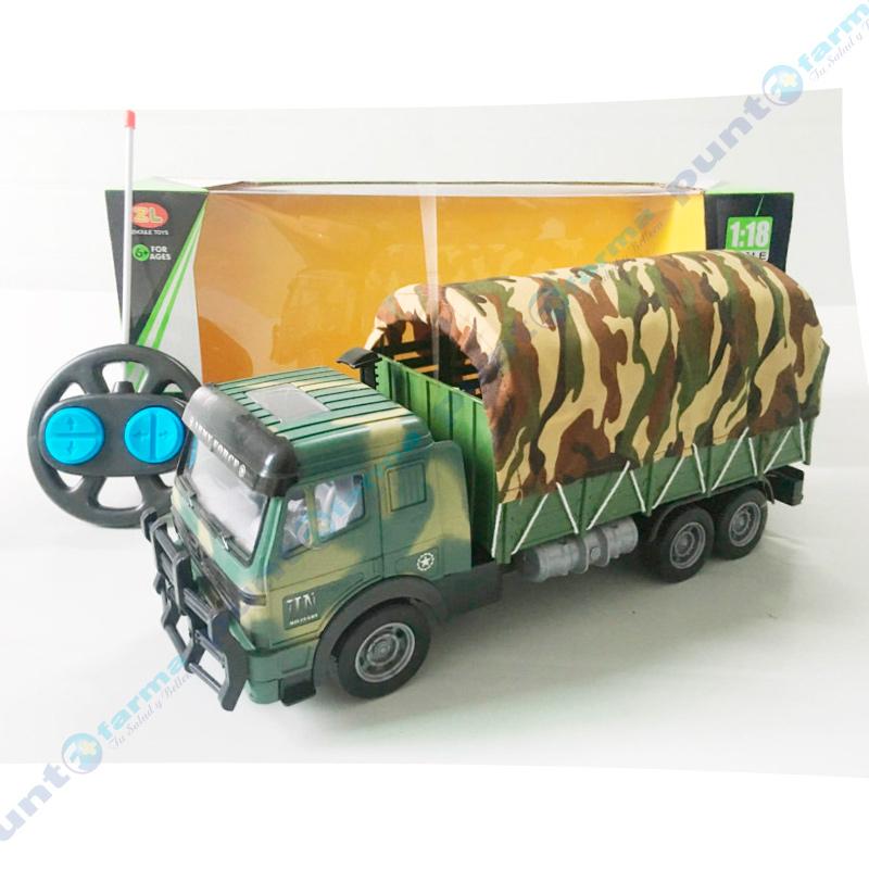 Imagen de producto: Camión Militar con Control Remoto