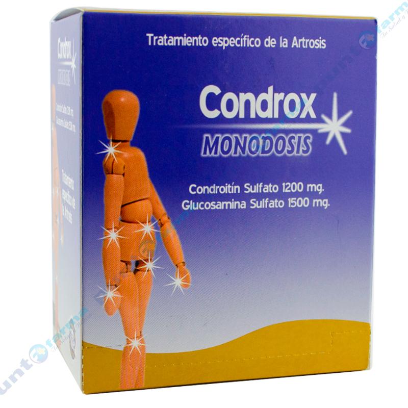 Imagen de producto: Condrox MONODOSIS - Caja de 30 sobres para solución oral