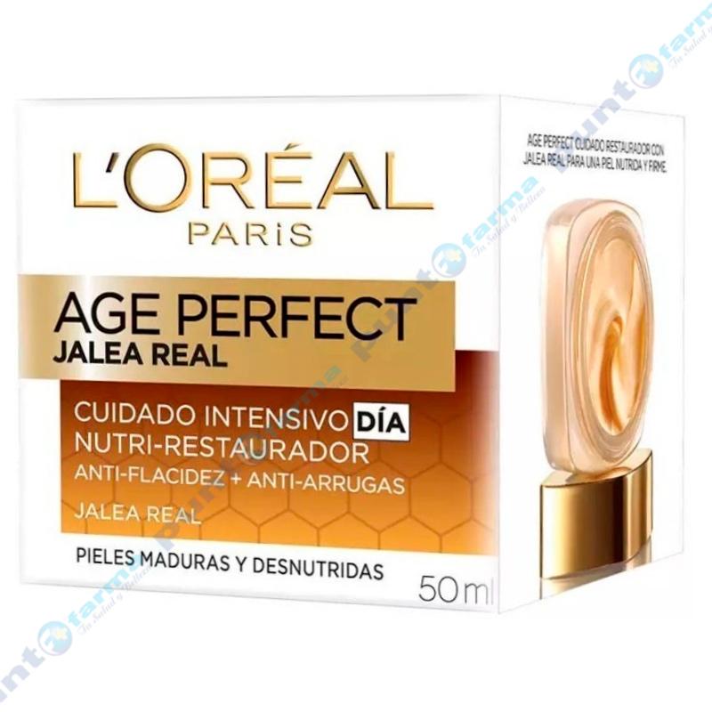 Imagen de producto: Crema Age Perfect Jalea Real Cuidado Intensivo Dia L'Oréal - 50mL