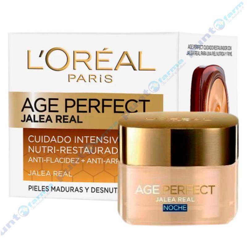 Imagen de producto: Crema Facial Anti-flacidez + Restauración Noche L'Oreal Paris - 50mL