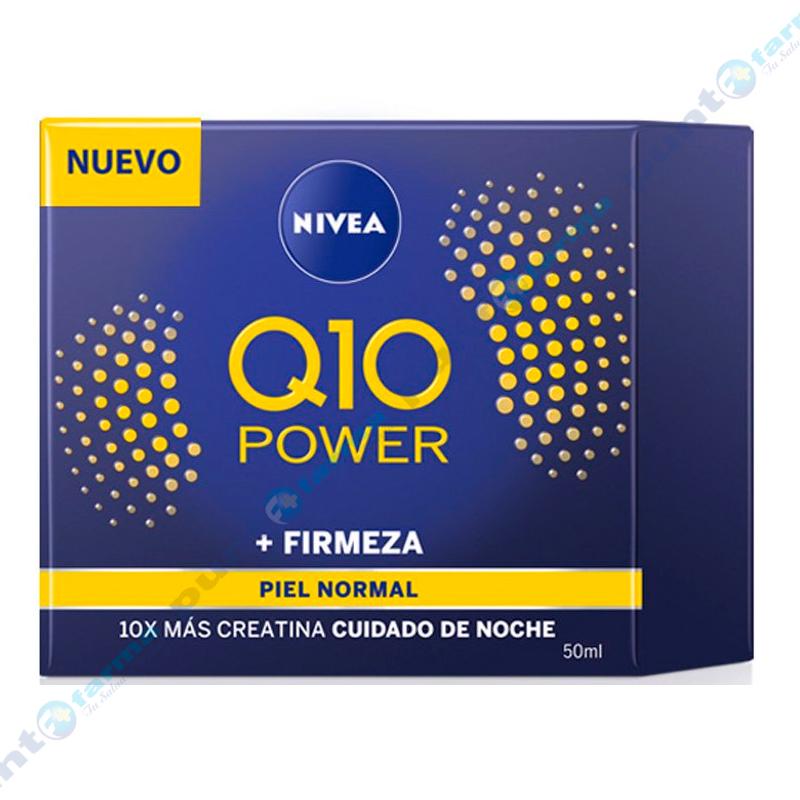 Imagen de producto: Crema Facial Antiarrugas Noche Q10 Power Nivea - 50mL