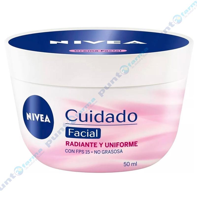 Imagen de producto: Crema Facial Radiante y Uniforme Nivea - 50g