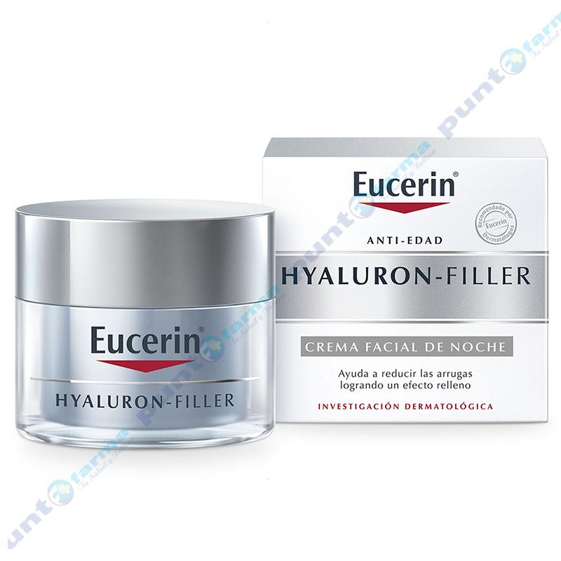Imagen de producto: Crema Facial de Noche Eucerin® Hyaluron-Filler - 50mL