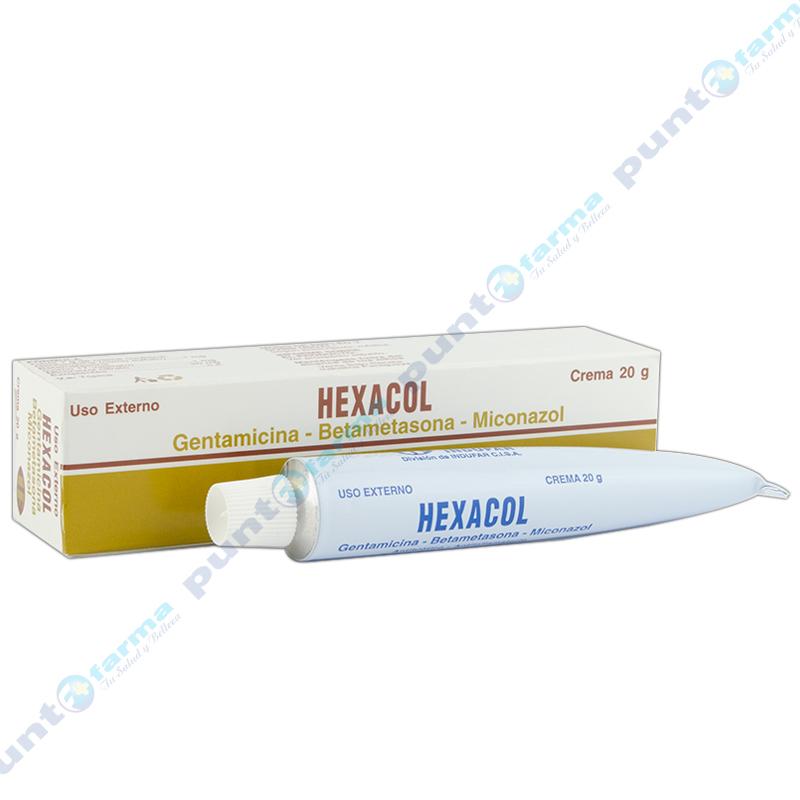 Imagen de producto: Crema HEXACOL  - Pomo de 20gr