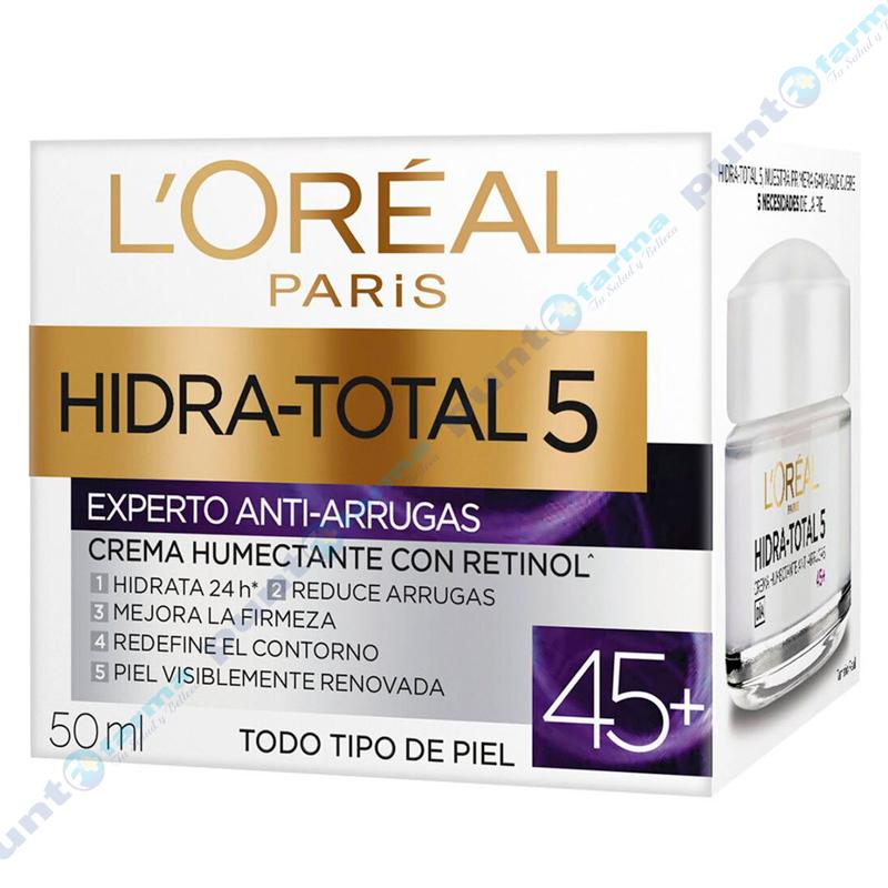 Imagen de producto: Crema Humectante Anti Arrugas 45+ L'ORÉAL PARIS - 50mL