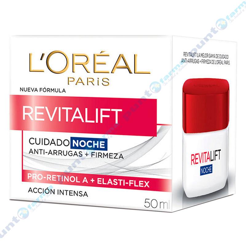 Imagen de producto: Crema Noche Anti-arruga + Firmeza Revitalif L'oréal - 50mL