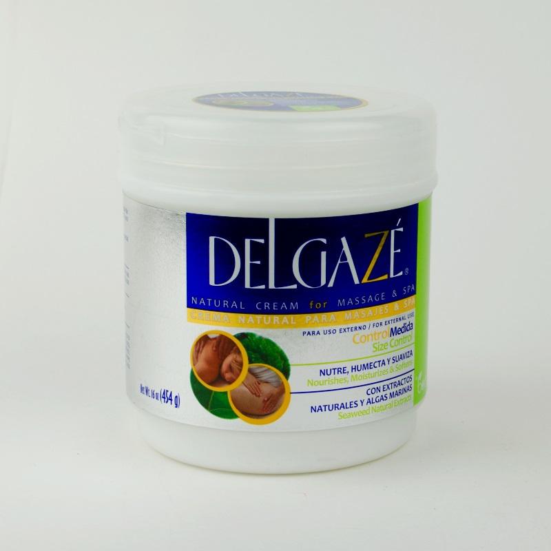 Imagen de producto: Crema natural para masajes y spa DELGAZÉ - 454g