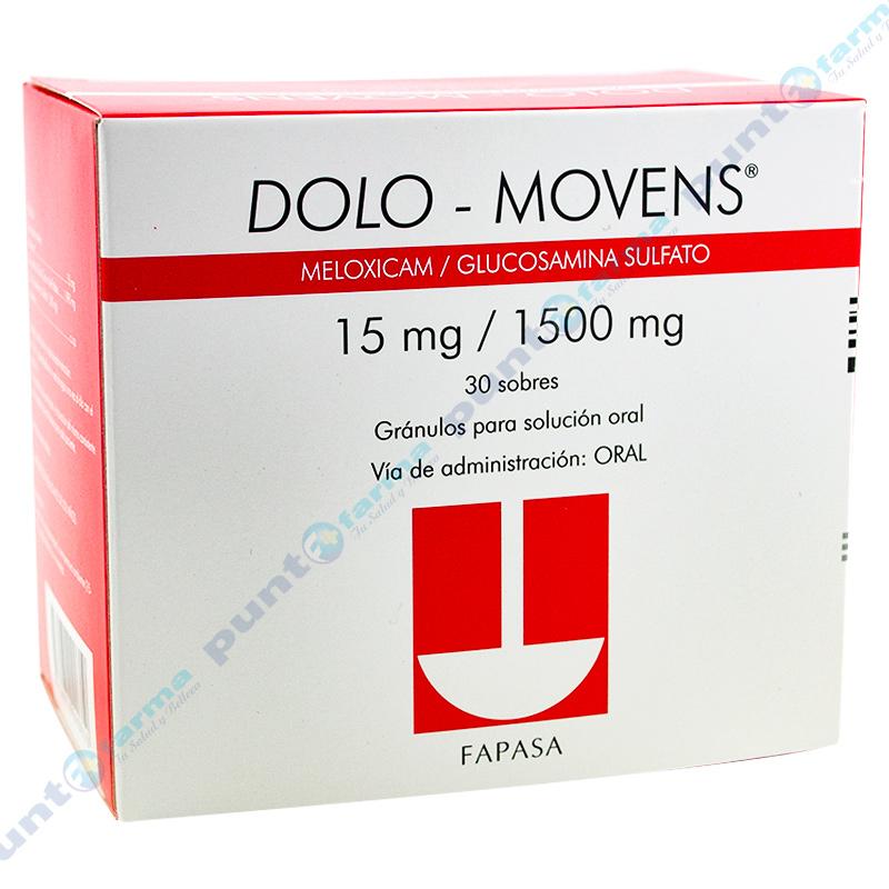Imagen de producto: DOLO - MOVENS®  - Caja de 30 sobres