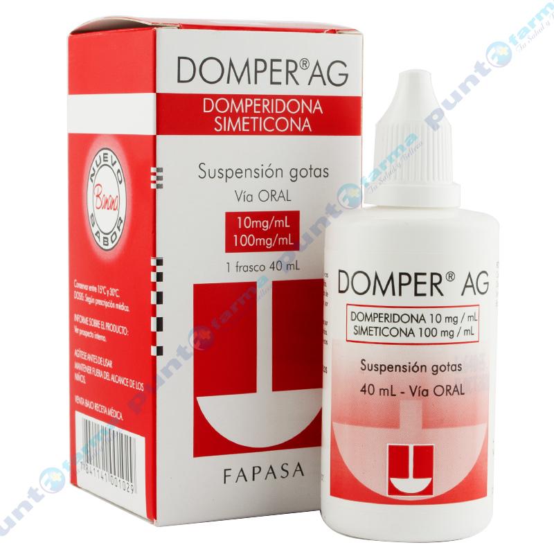 Imagen de producto: DOMPER ® AG - Suspension gotas orales de 40 ml