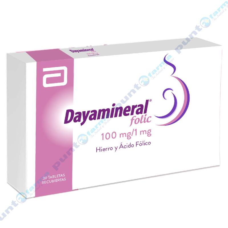 Imagen de producto: Dayamineral Folic - Caja de 30 comprimidos
