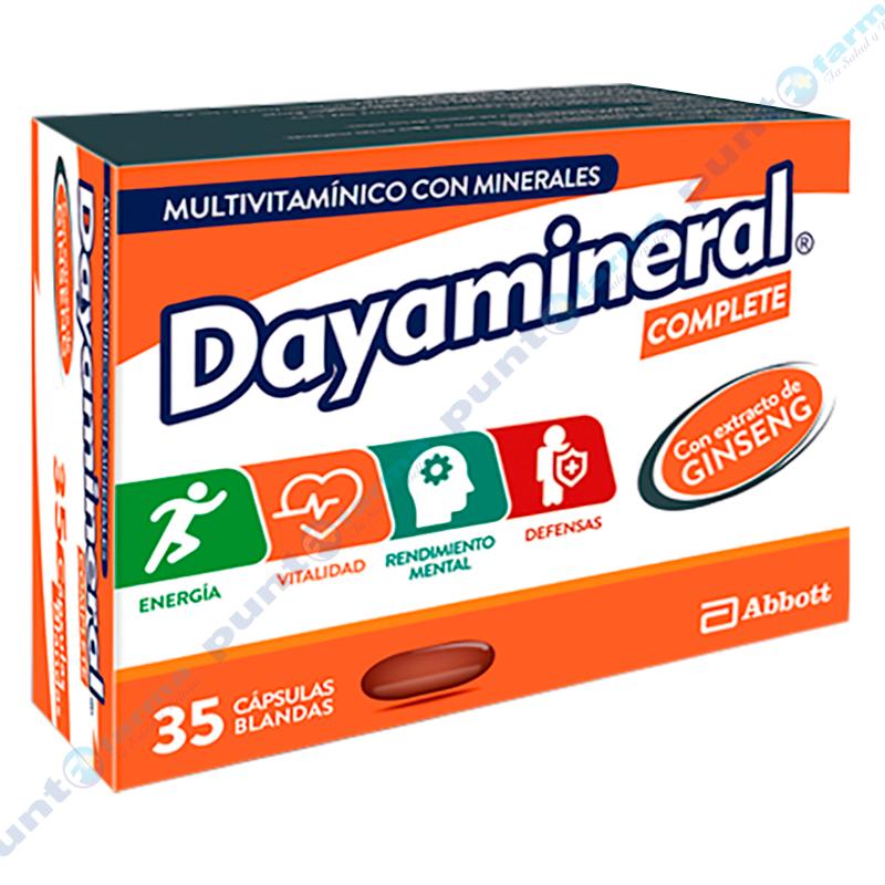 Imagen de producto: Dayamineral® Complete - Caja de 35 cápsulas