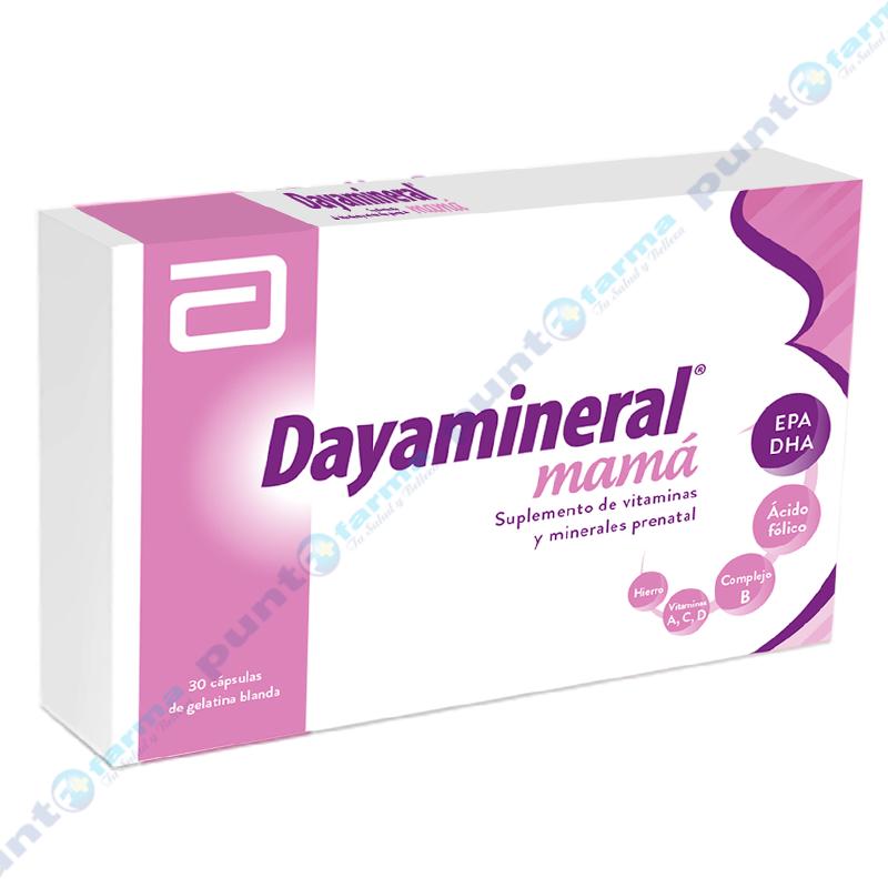 Imagen de producto: Dayamineral® mamá - Caja de 30 cápsulas
