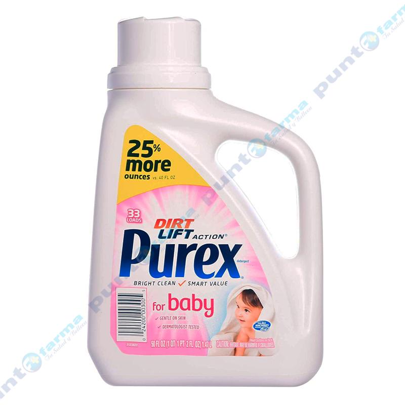Imagen de producto: Detergentes para ropas de bebés Purex - 1,47L