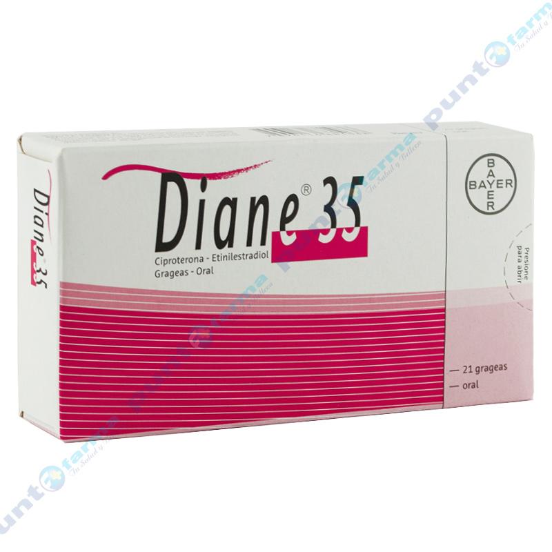 Imagen de producto: Diane® 35 - Caja de 21 grageas