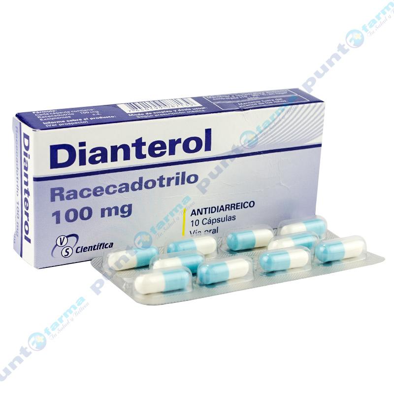 Imagen de producto: Dianterol - Caja 10 cápsulas