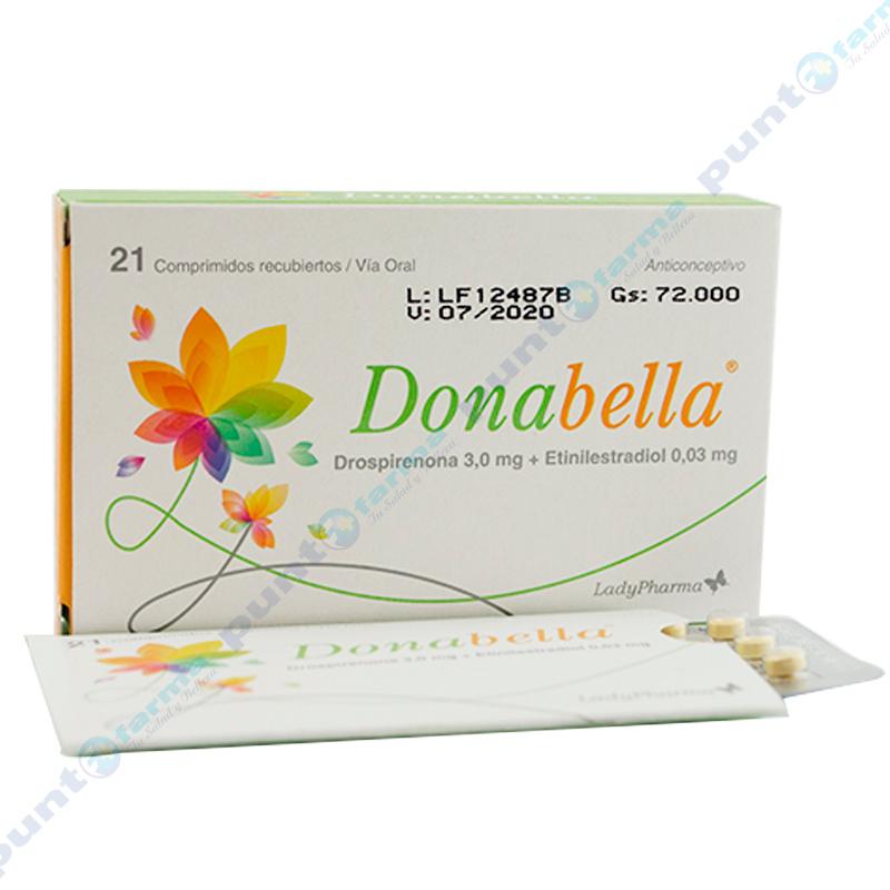 Imagen de producto: Donabella® - Caja de 21 comprimidos recubiertos