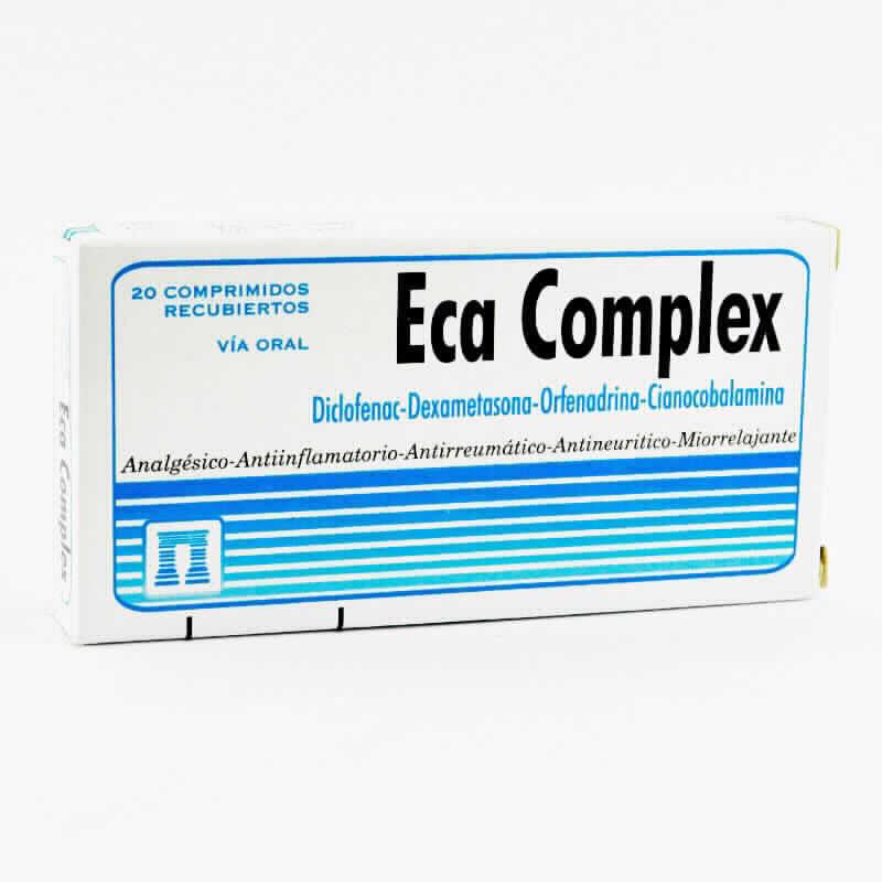 Imagen de producto: Eca Complex - Caja de 20 comprimidos recubiertos