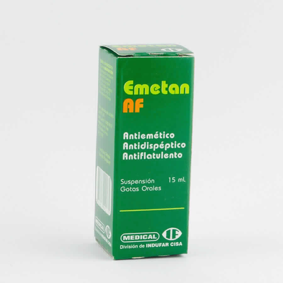 Imagen de producto: Emetan AF - Gotero de 15 ml.