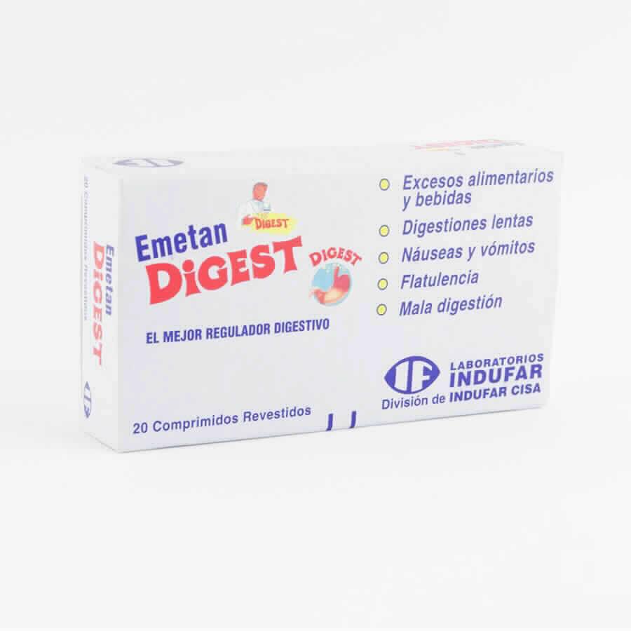 Imagen de producto: Emetan Digest 20 Comprimidos