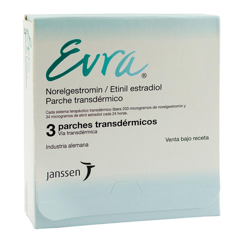 Imagen de producto: Evra® - Caja de 3 parches transdérmicos