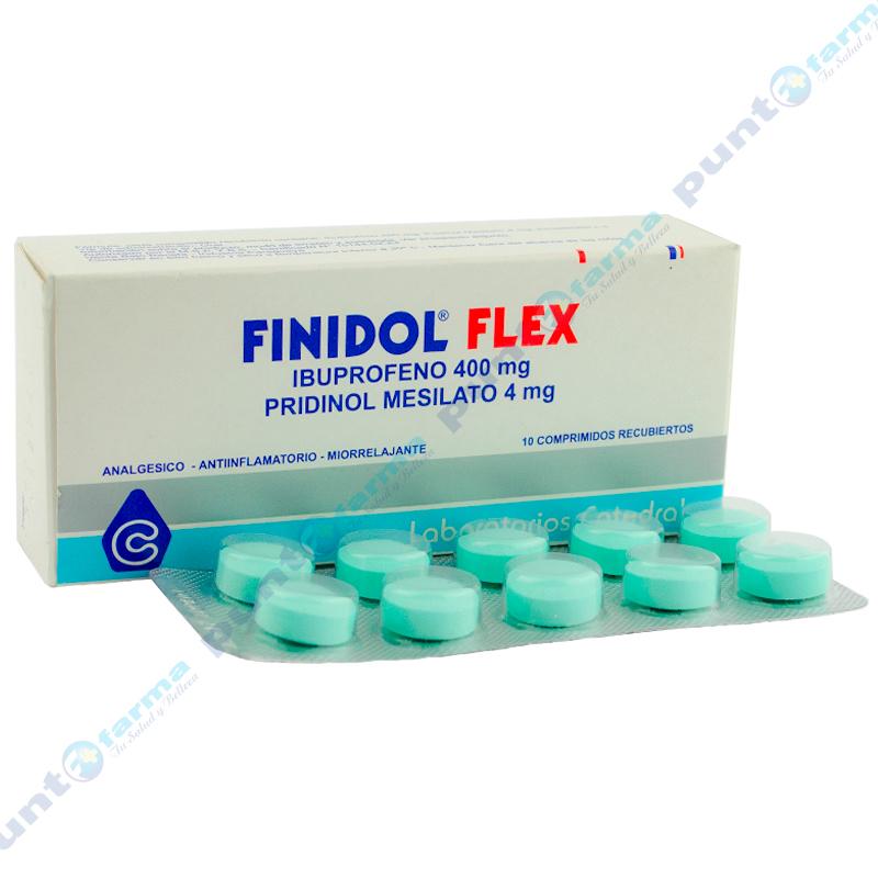 Imagen de producto: FINIDOL® FLEX - Contenido de 10 comprimidos recubiertos