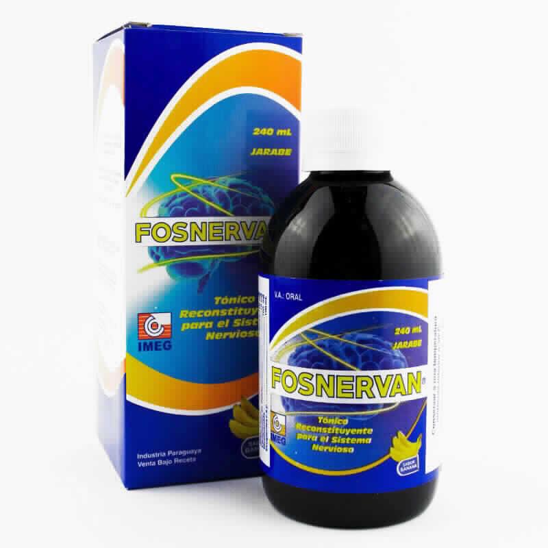 Imagen de producto: FOSNERVAN® - Contenido de 240 ml Jarabe