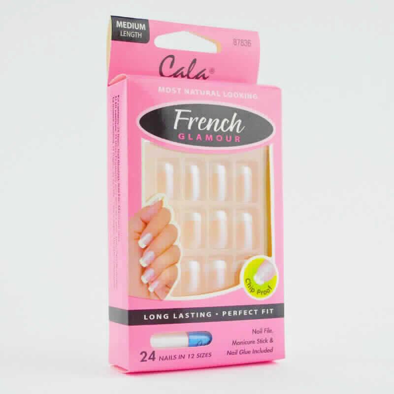 Imagen de producto: French Glamour aspecto más natural - 12 uñas