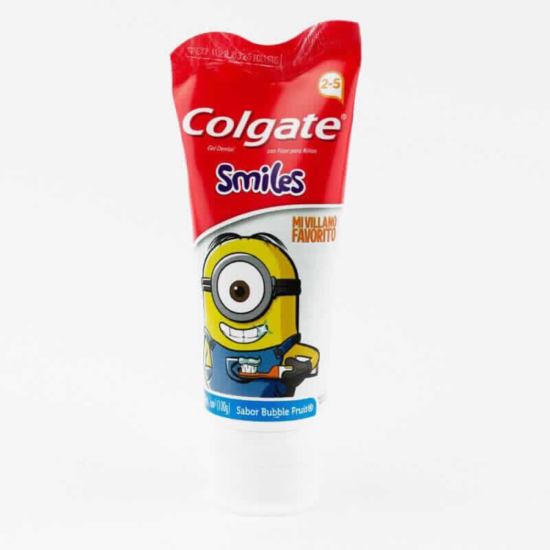 Imagen de producto: Gel Dental con flúor para niños Colgate® Smiles Mi Villano Favorito - Sabor Bubble Fruit
