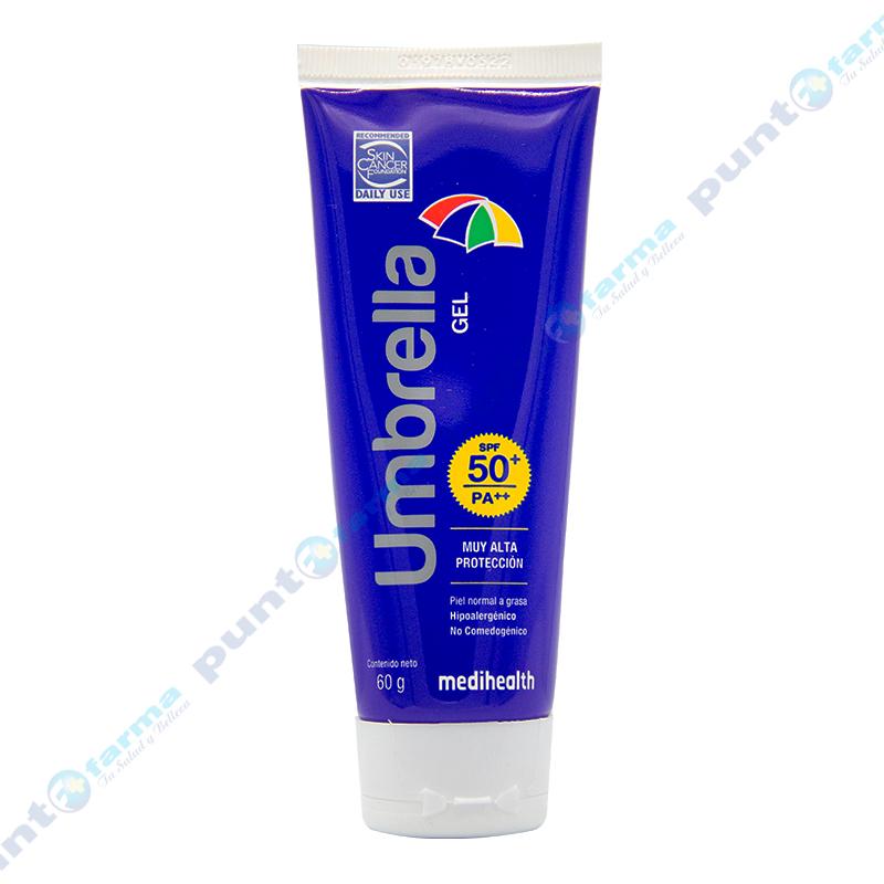 Imagen de producto: Gel Protector Solar FPS50+ Umbrella - 60 gr