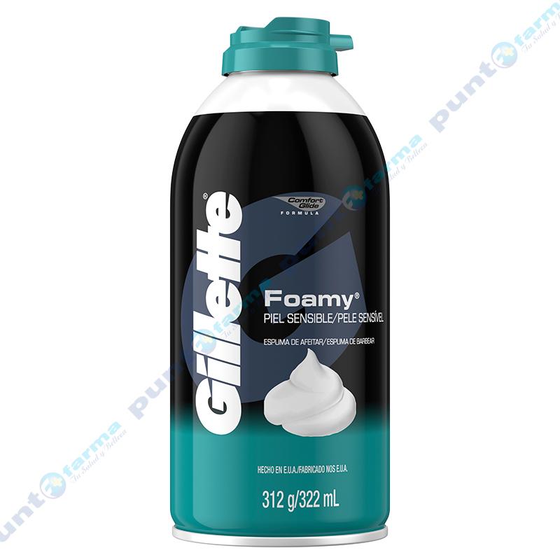 Imagen de producto: Gillette® Foamy® Sensitive - 312g