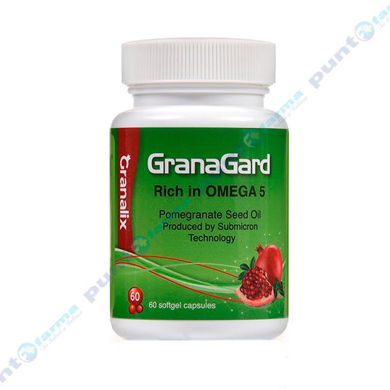 Imagen de producto: GranaGard Rich in Omega 5 - Cont. 60 cápsulas