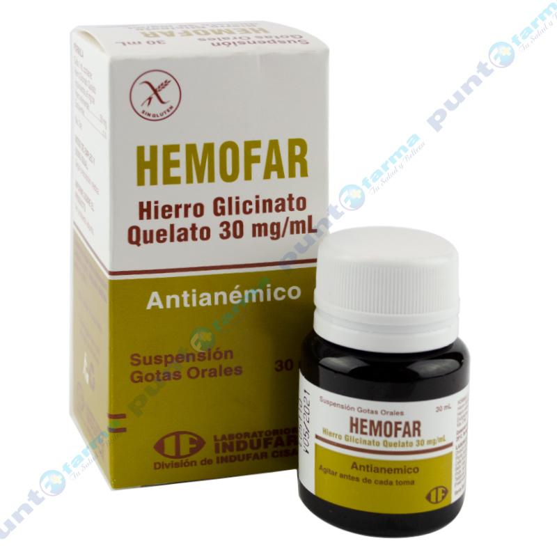 Imagen de producto: Hemofar - Suspensión Oral 30mL