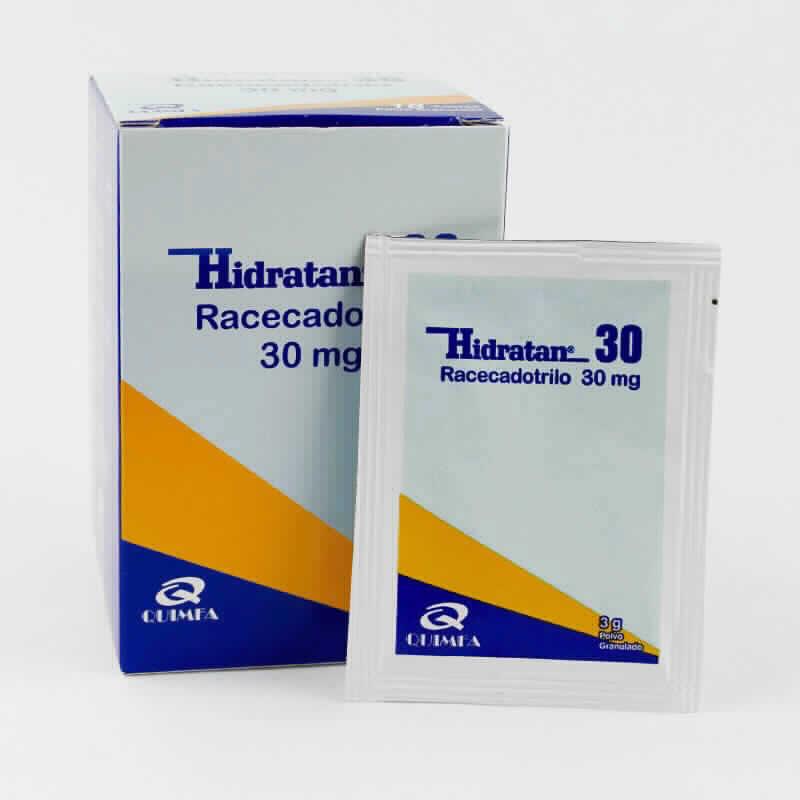 Imagen de producto: Hidratan® 30 Racecadotrilo 30 mg - Contenido de 18 sobres granulados
