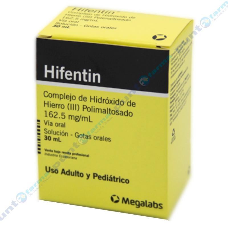 Imagen de producto: Hifentin Gotas - Frascos de 30mL