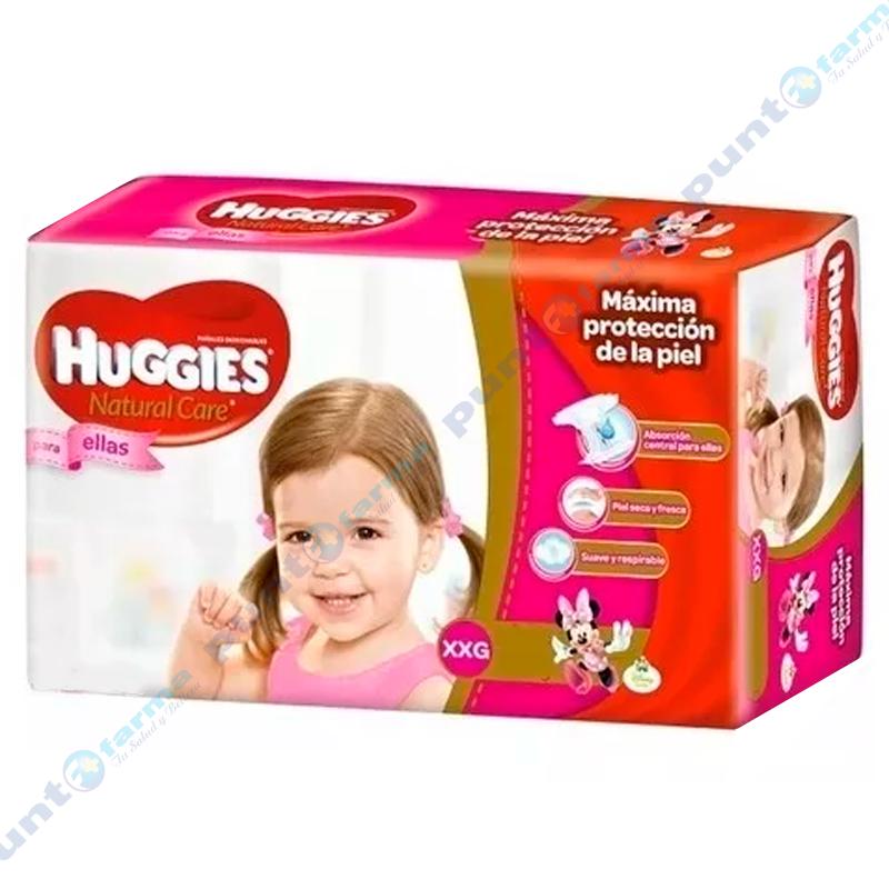 Imagen de producto: Huggies® Natural Care para ellas XXG - Cont. 42 unidades