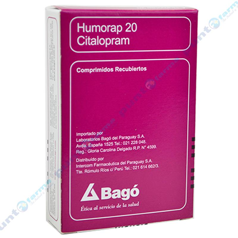 Imagen de producto: Humorap 20 - Caja de 28 comprimidos recubiertos