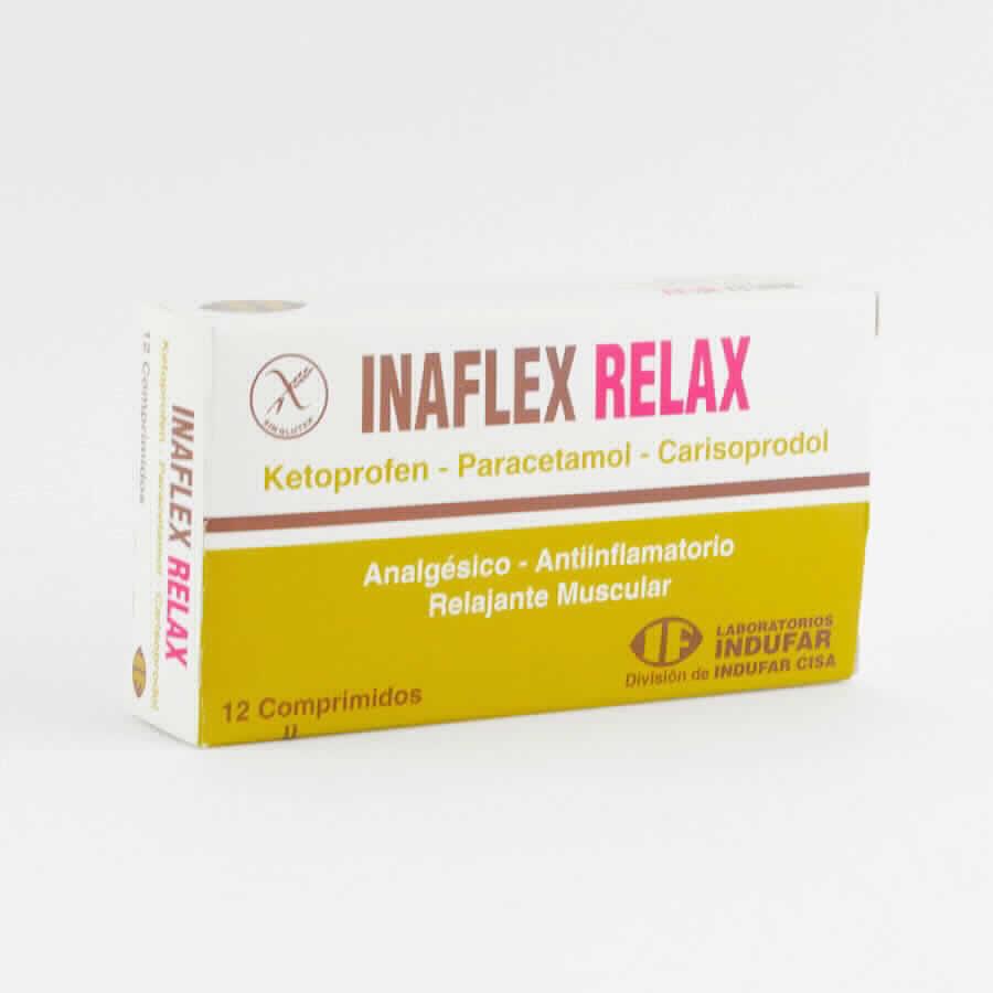 Imagen de producto: INFLALEX RELAX -  Caja de 12 Comprimidos