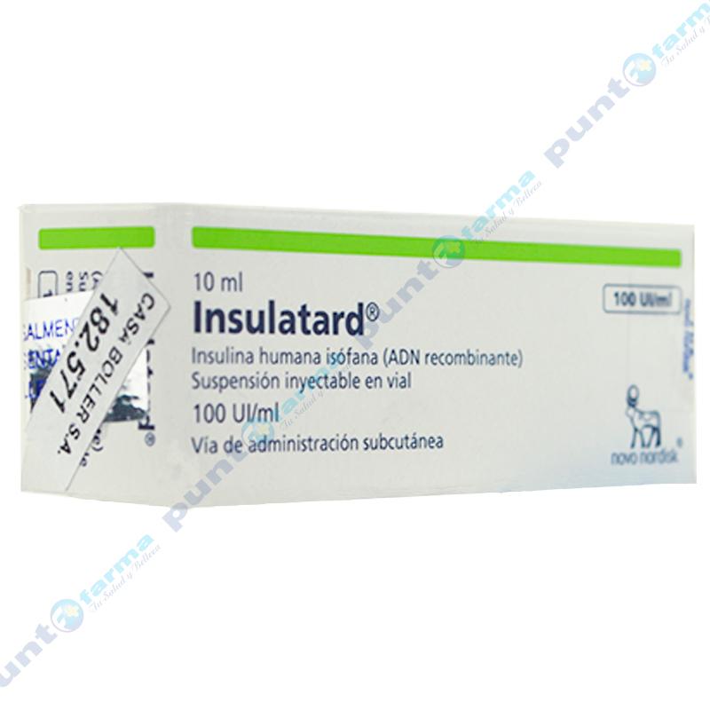 Imagen de producto: Insulatard® HM 100UI/ML - Fraco de 10ml