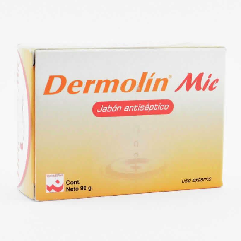 Imagen de producto: Jabón Dermolín Mic - Contenido en barra de 90 g